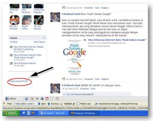 Cara Menampilkan Widget Badge / Lencana Facebook di Blog